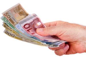 Geld bekommen: Geld borgen